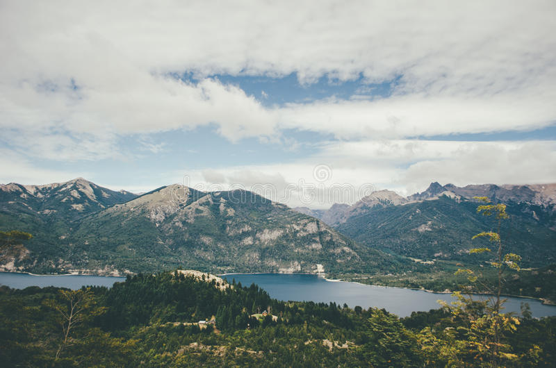 Vue de Cerro Campanario photo libre de droits