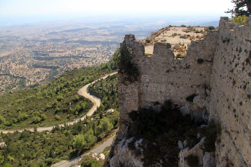Vue de château image stock
