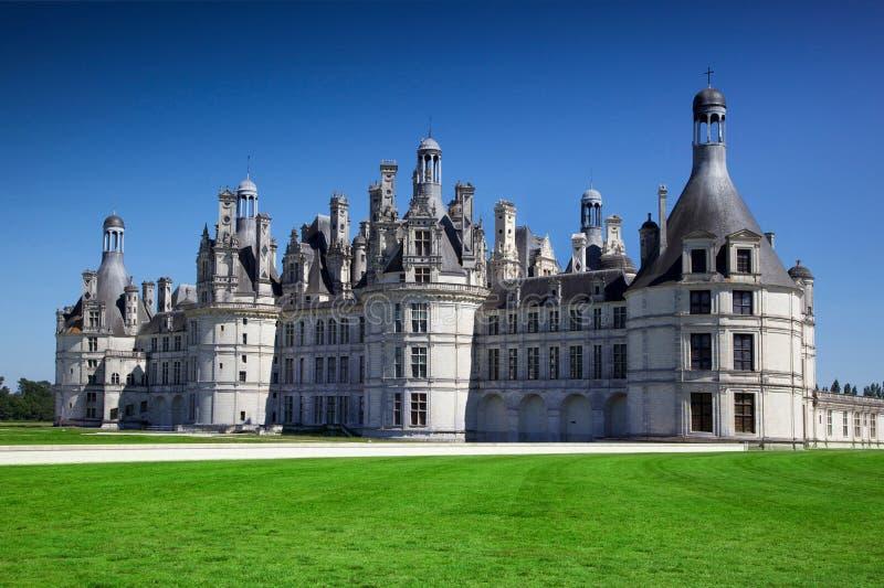 Vue de château de Chambord photos stock