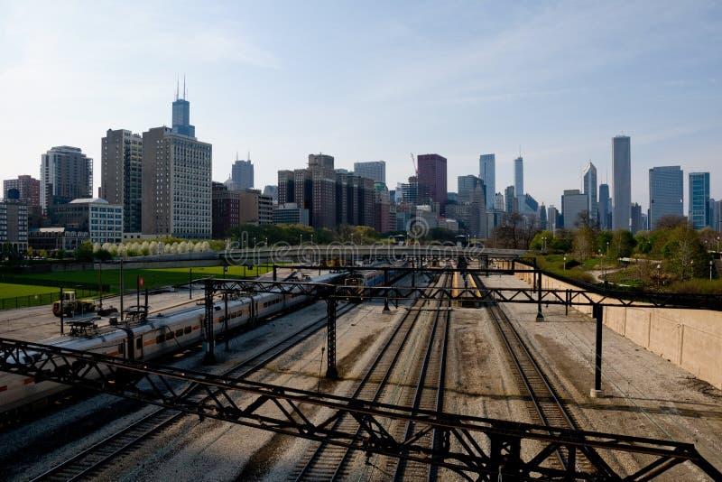 Vue de Chicago photo libre de droits
