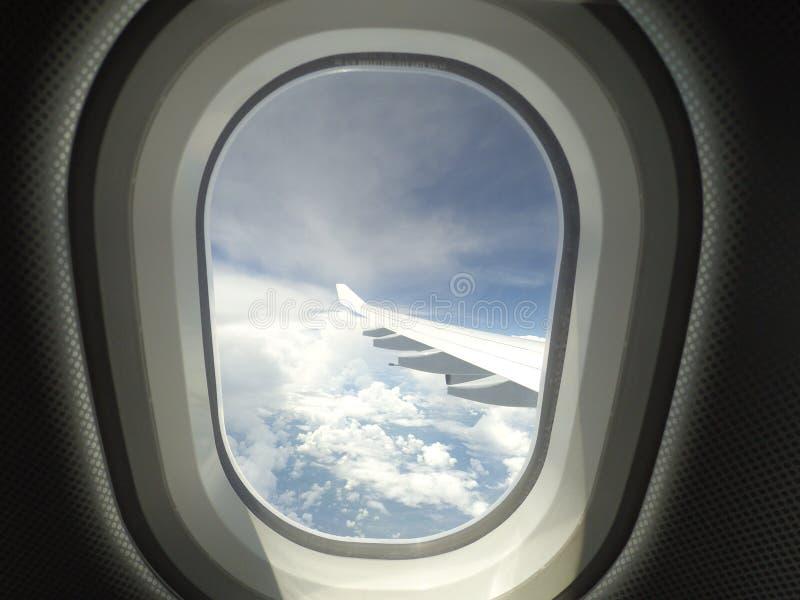 Vue de ciel image libre de droits