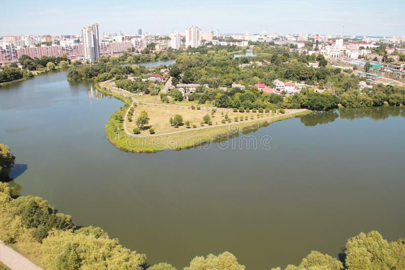 Download Vue de ciel de Minsk photo stock. Image du capital, landmark - 77151562
