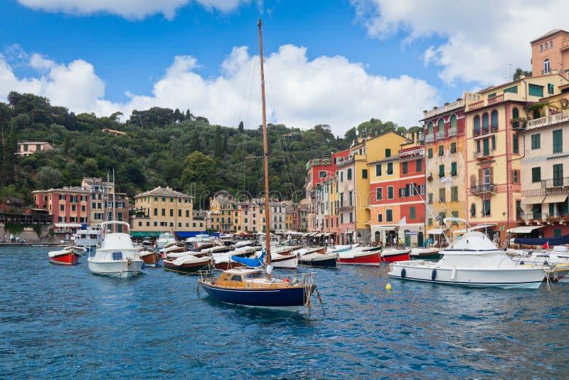 Vue de compartiment de Portofino image stock