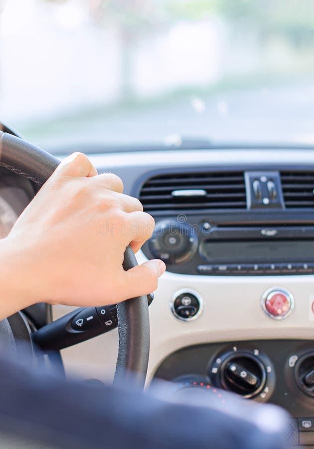 Vue de conducteur images stock