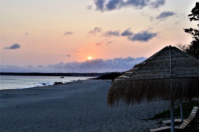 Vue de coucher du soleil dans Kenting Taïwan photos stock