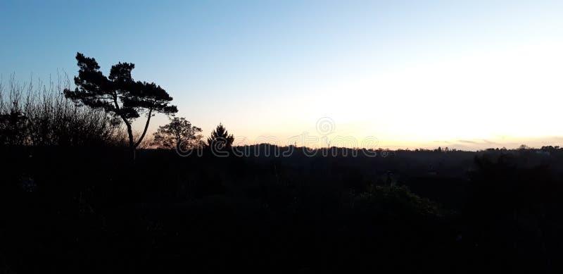 Vue de crépuscule photo libre de droits