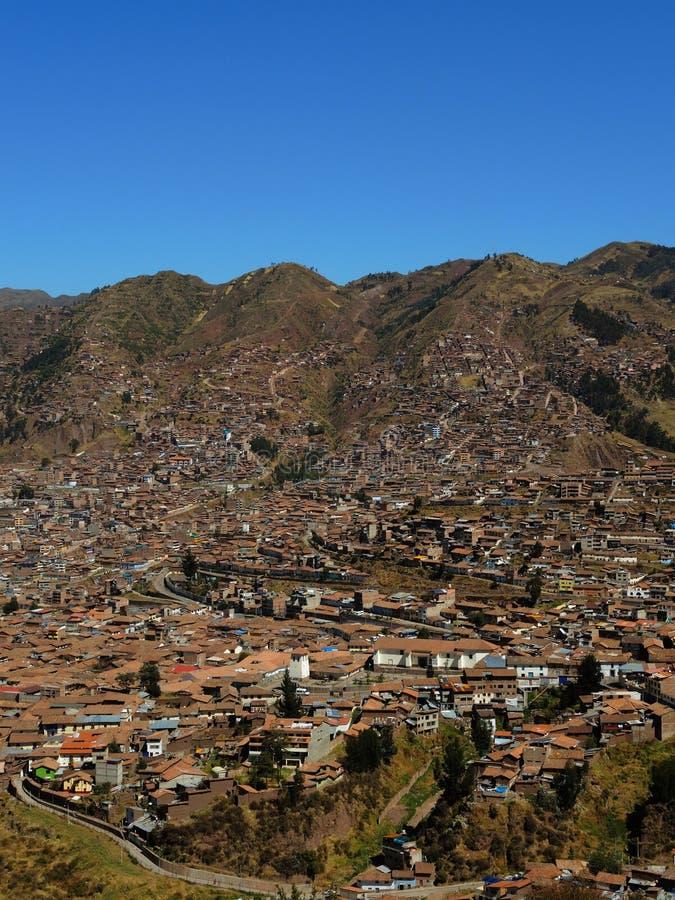Download Vue de Cusco, Pérou image stock. Image du architecture - 77152623