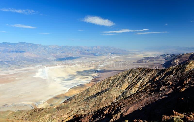 Vue de Dantes, Death Valley photographie stock libre de droits