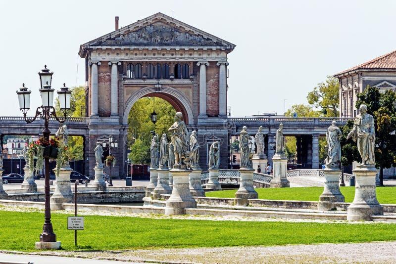 Vue de della Valle de Prato image libre de droits