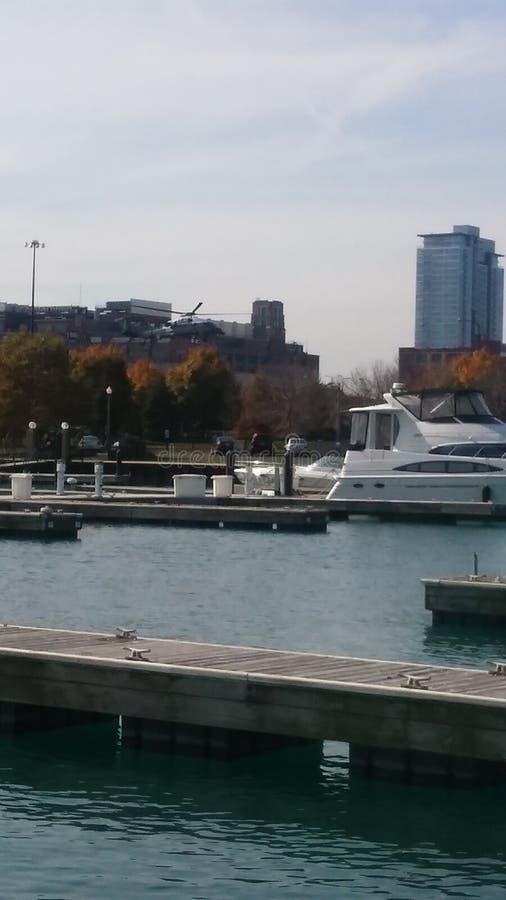 Vue de dock photo stock