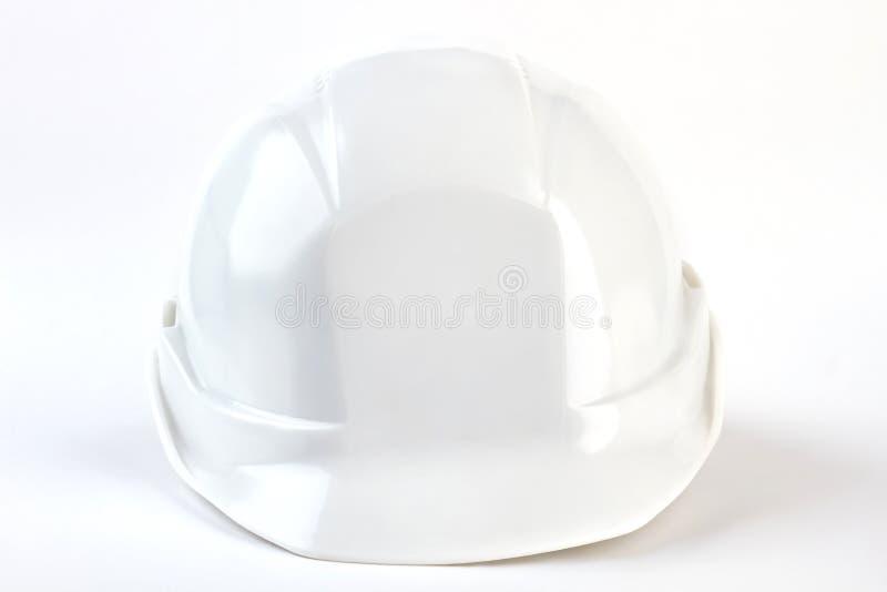 Vue de face de casque de sécurité du travail images libres de droits