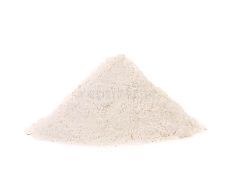 Vue de face de farine de blé. photos stock