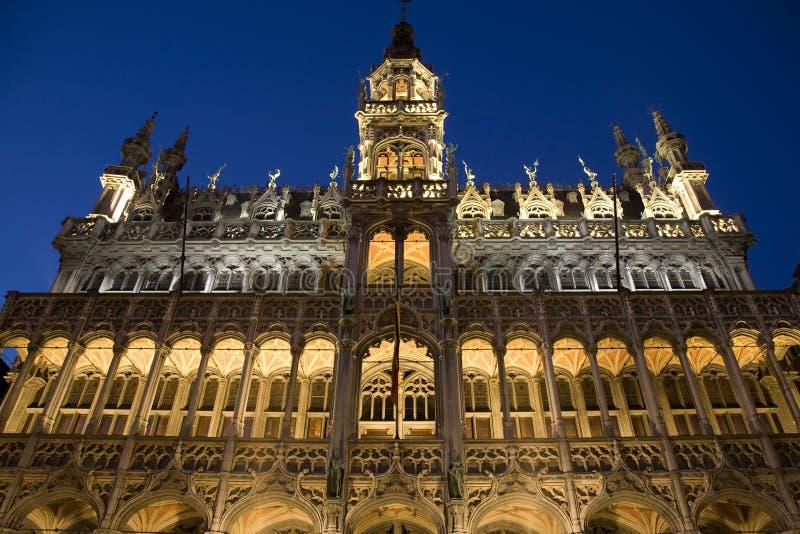 Vue de face de Musee de la Ville de Bruxelles photos stock