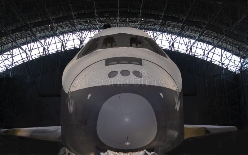 Vue de face de navette spatiale photos libres de droits