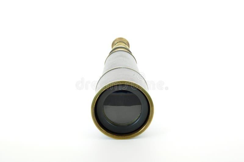 Vue de face en laiton de télescope