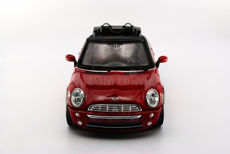 Vue de face de Mini Cooper Cabrio photo libre de droits