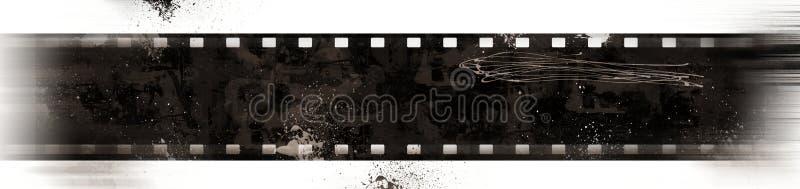 Vue de film grunge avec l'effet de mouvement illustration libre de droits