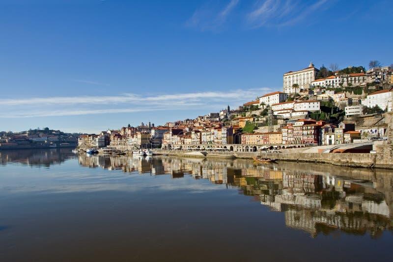 Vue de fleuve de Douro - Porto photographie stock