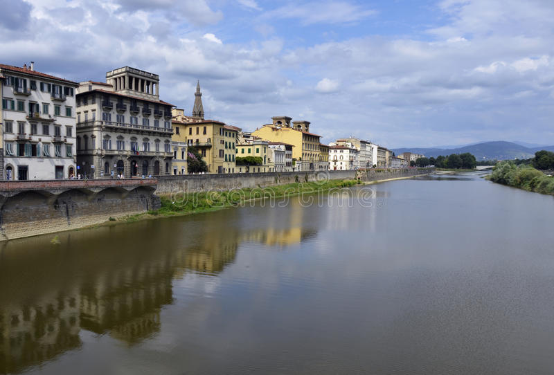 Vue de Florence photographie stock