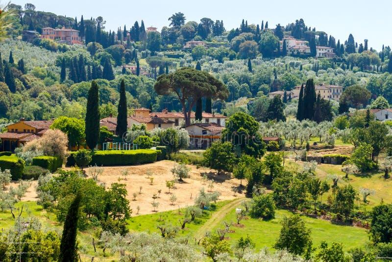Vue de Florence de belvédère de fort photo libre de droits