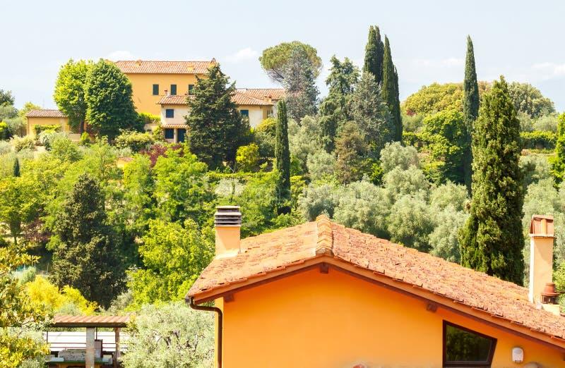 Vue de Florence de belvédère de fort photos libres de droits