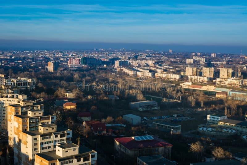 Vue de Galati, Roumanie photos libres de droits