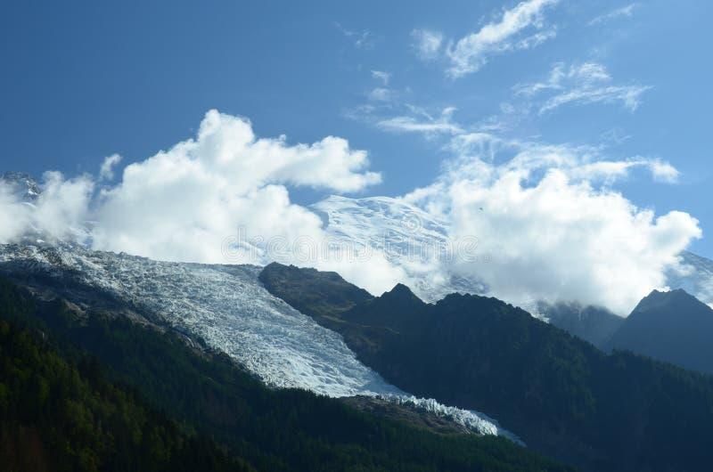 Vue de glacier photographie stock libre de droits