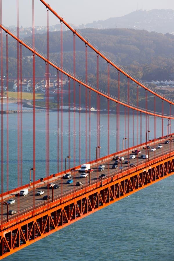 Vue de golden gate bridge images libres de droits
