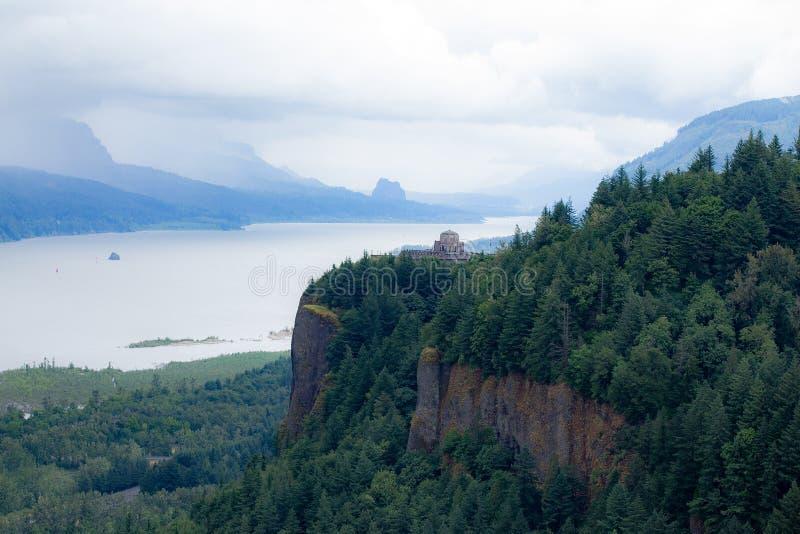 Vue de gorge du fleuve Columbia photographie stock libre de droits