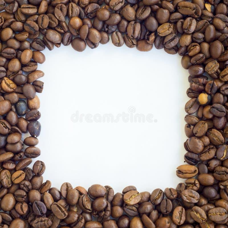 Vue de grains de café image stock