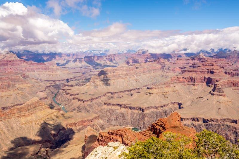 Vue de Grand Canyon de point de Mohave photographie stock libre de droits