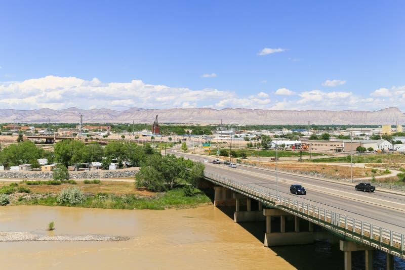 Vue de Grand Junction photographie stock