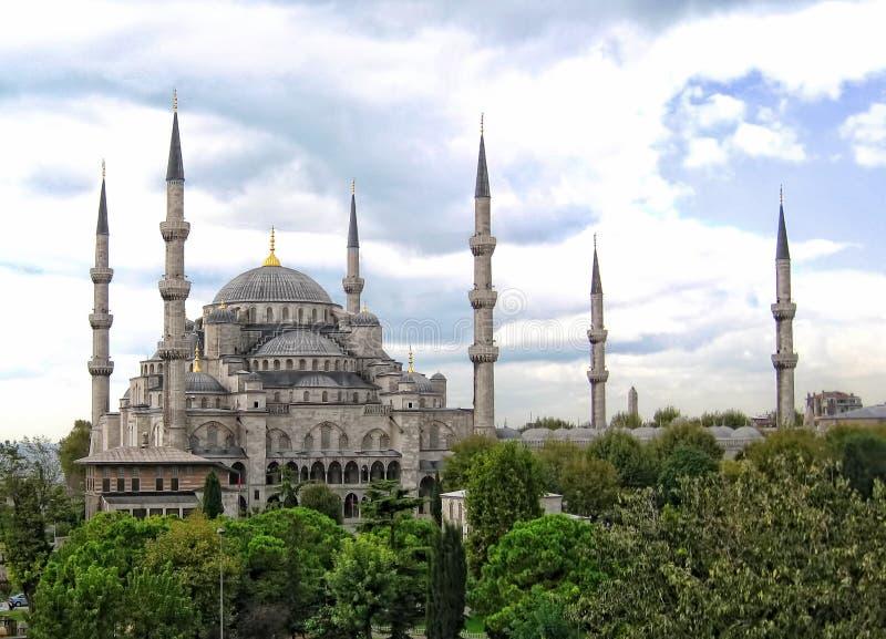 Vue de Hagai Sophia, Istanbul, Turquie image stock