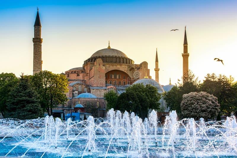 Vue de Hagia Sophia image libre de droits