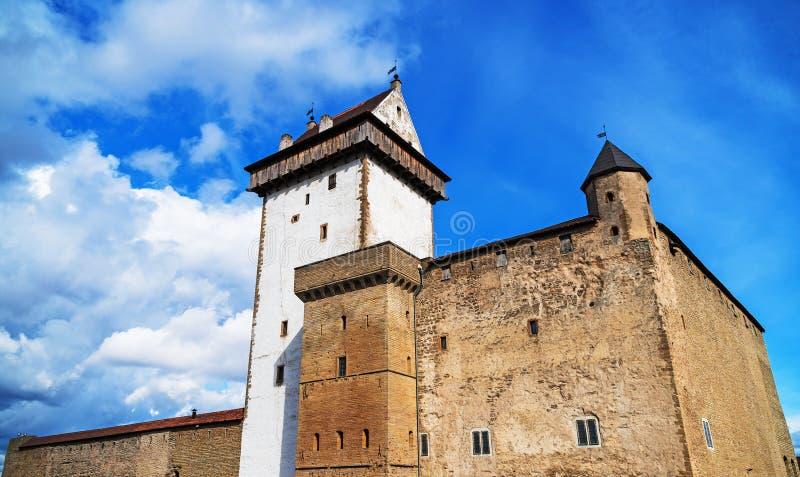 Vue de Hermann Castle image libre de droits