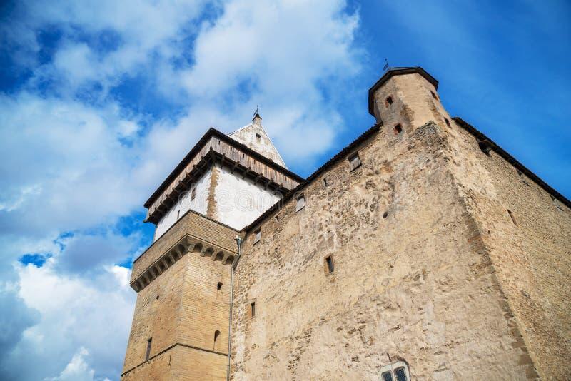 Vue de Hermann Castle photos stock