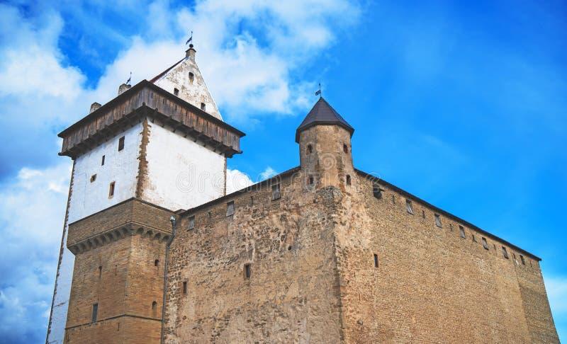 Vue de Hermann Castle photo stock