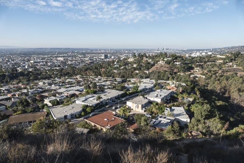 Vue de Hollywood Hills photos stock