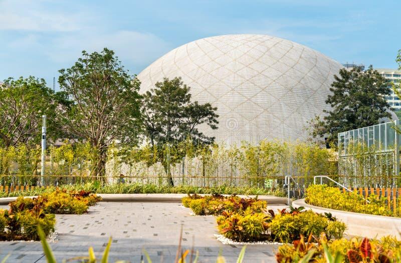 Vue de Hong Kong Space Museum en Chine photos libres de droits