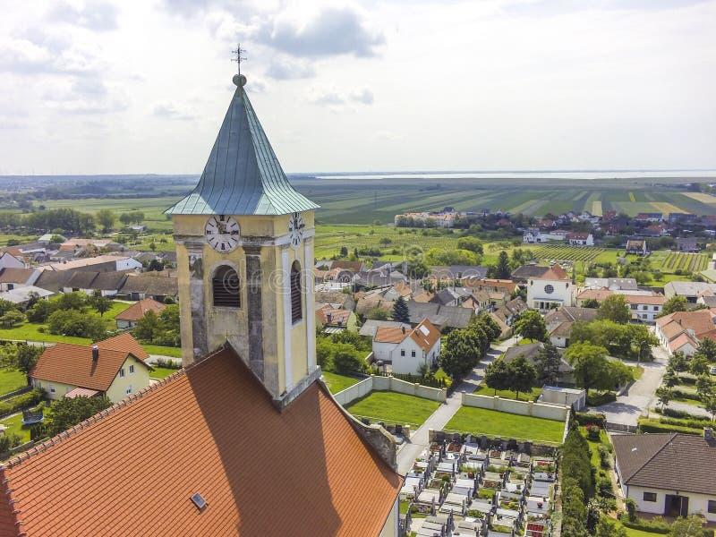 Vue de Jois dans le Burgenland photographie stock libre de droits
