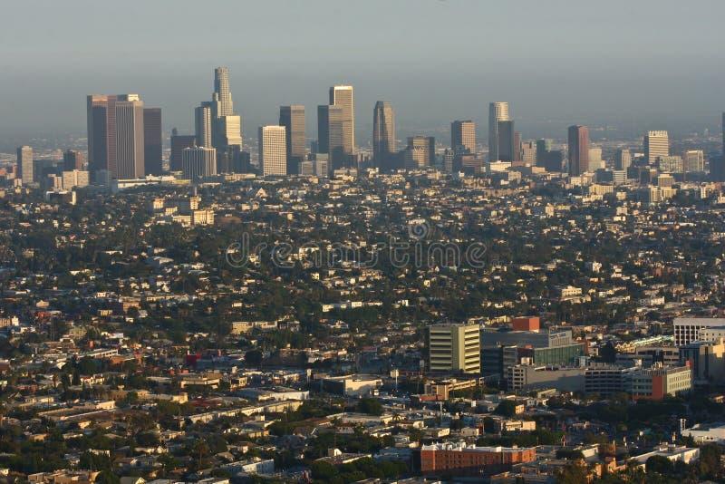 Vue de jour de Los Angeles photos libres de droits