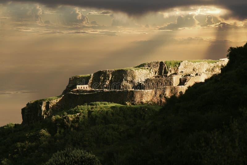 vue de journal d'Inca photo libre de droits
