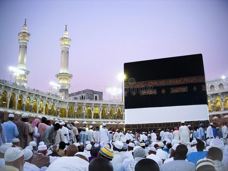 Vue de Kaaba images libres de droits