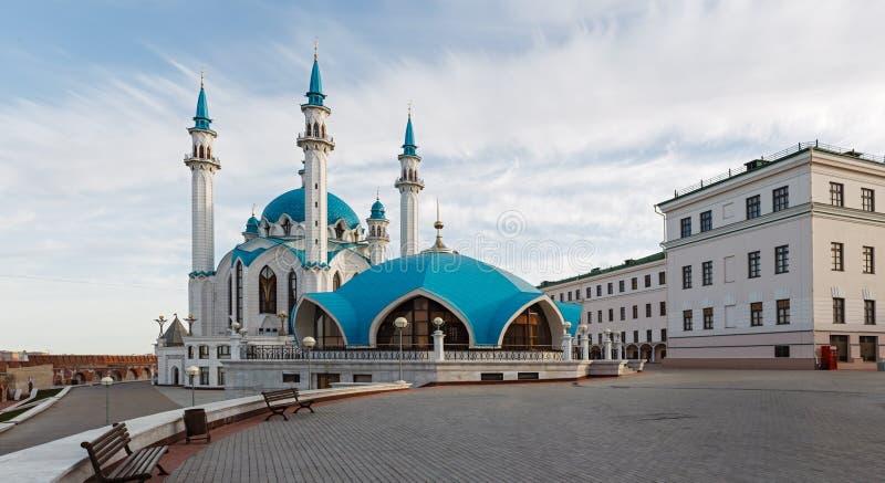 Vue de Kazan Kremlin photographie stock libre de droits