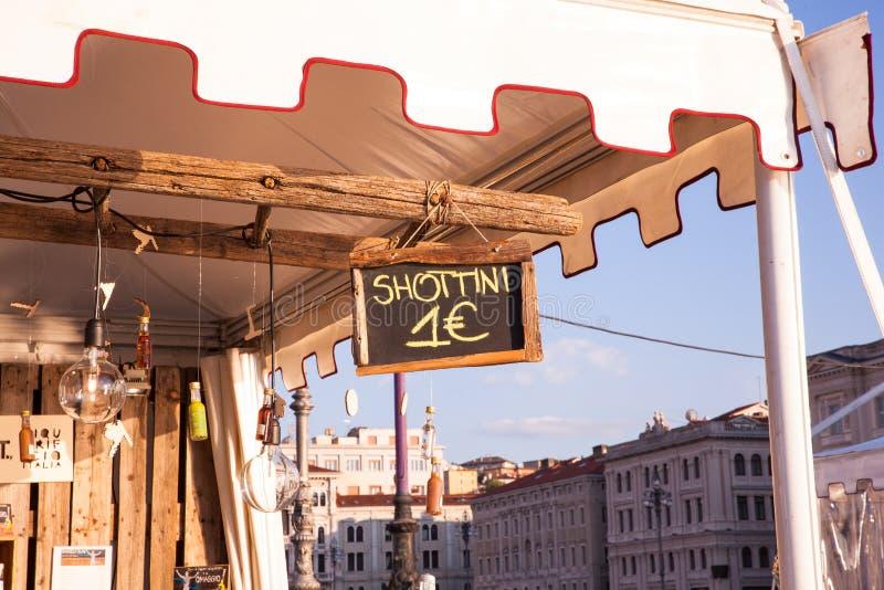 Vue de kiosque extérieur photographie stock libre de droits