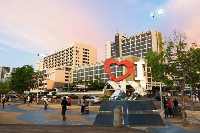 Vue de Kota Kinabalu City image stock