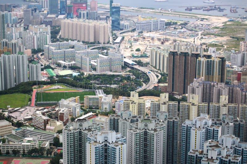 Vue de Kowloon photos stock