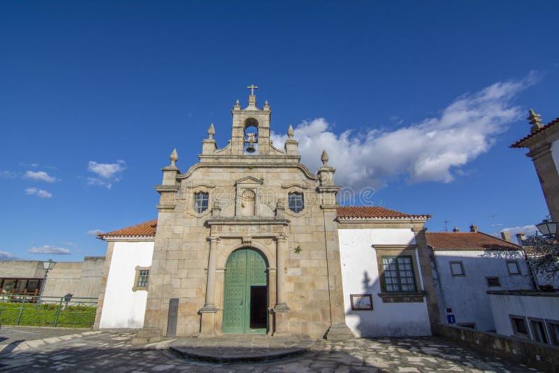 Vue de l'église de Misericordia, dans la vieille ville historique de la MIR image libre de droits