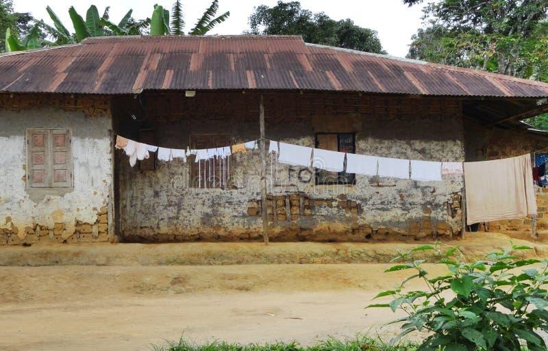 Vue de l'Afrique photo libre de droits