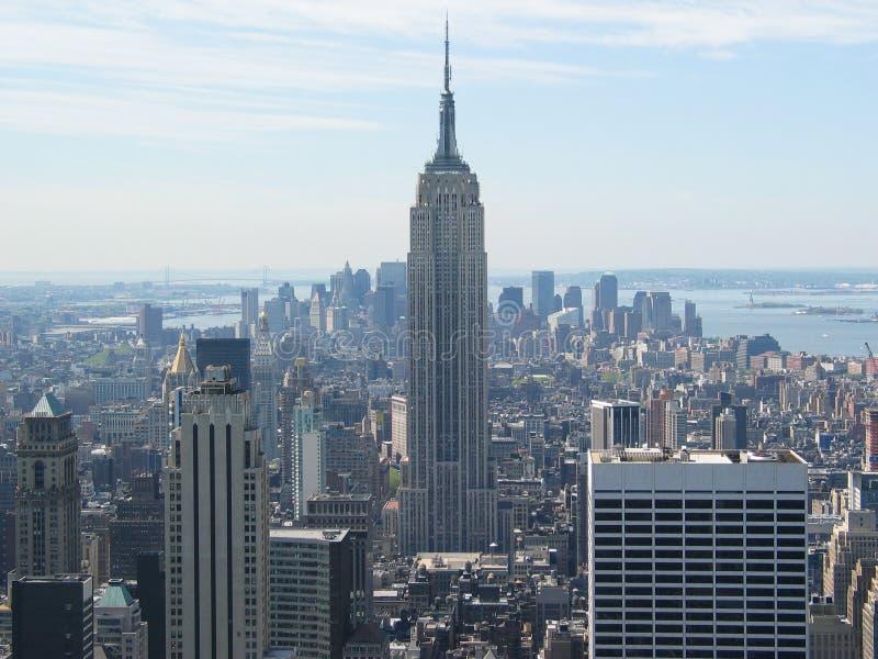 Vue de l'Empire State Building photo libre de droits